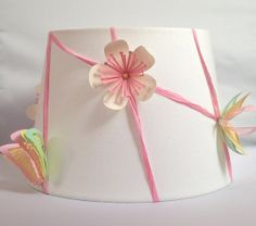 Whimsical Collection Pink Lampshade by CleverMakings on Etsy, €28.00