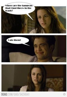 For all the Twilight fans out there. jairosoria For all the Twilight fans out there. For all the Twilight fans out there. Twilight Saga Quotes, Twilight Jokes, Twilight Saga Series, Twilight Edward, Twilight Movie, Twilight Videos, Twilight Poster, Stupid Funny Memes, Funny Relatable Memes