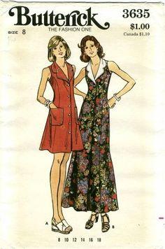 Womens Aline Sleeveless Maxi Dress Front Buttoned by patternshop, $12.99