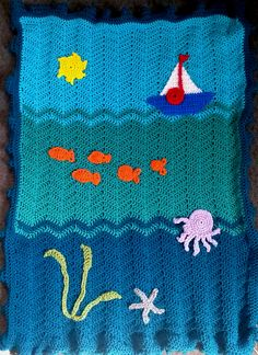 "Fun Theme Blanket - ""Under the Sea"""