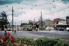 Maroubra Junction looking south 1958