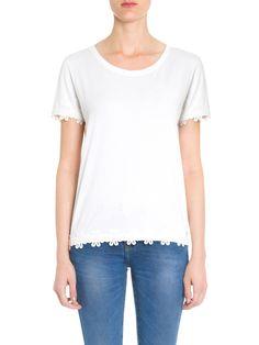 Blusa Feminina Light Com Barra - Mob - Off White  - Shop2gether