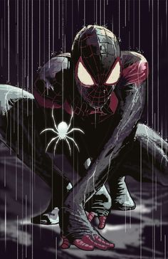 Spider-Man gif / Dave Seguin illustration