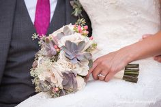 An amazing bridal bouquet by Cool Green and Shady. photo www.eyecontact.ca