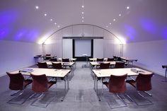 A classroom setup for this Atrium at Skene House Conference Suites. Meeting Venue, Meeting Rooms, Conference Meeting, Corporate Office Design, Classroom Setup, Atrium, Cabaret, Natural Light, Environment