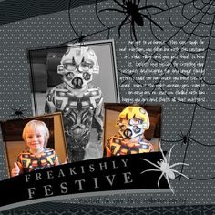 My Digital Studio | Designed by Heather Summers using the Fright Night Party Ensemble