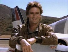 My favorite show growing up! MacGyver can fix anything!