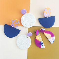 About I design and make statement jewellery. Each piece is unique as it is hand formed using polymer clay. I find joy in the creative process, in particular, the experimentation of colour, shape and form to create striking pattern and bold colour palettes.   Stockists Far Fetched Designs The Make it Collective Pop-up