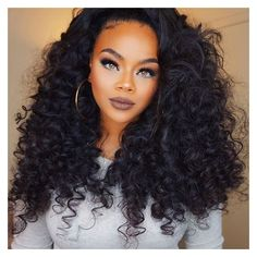 Mongolian Curly Hair ❤ liked on Polyvore featuring beauty products, haircare, hair styling tools and curly hair care