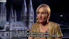 First off, she is a genuinely good person. | Why J.K. Rowling Will Always Be Your Favorite Author