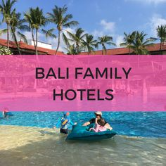 Hotels For Kids, Water Slides, Bali, Outdoor Decor