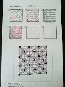 Judy's Zentangle Creations: Zentangle Patterns