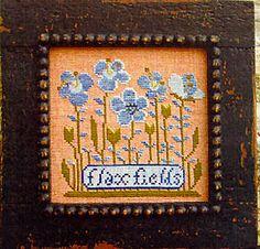 Carriage House Samplings: Flax Fields