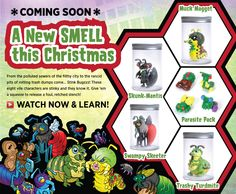 *Coming Soon* A new SMELL this Christmas! Stink Bugzzz!
