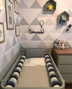 Baby Bedroom, Baby Boy Rooms, Baby Room Decor, Baby Boy Nurseries, Nursery Room, Kids Bedroom, Baby Design, New Room, Girl Room