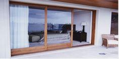Image result for sliding timber framed doors