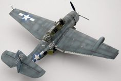 Accurate Miniatures TBM Avenger by Andrew Marriott Plastic Model Kits, Plastic Models, Model Hobbies, Ww2 Planes, Model Airplanes, War Machine, Scale Models, Fighter Jets, Modeling