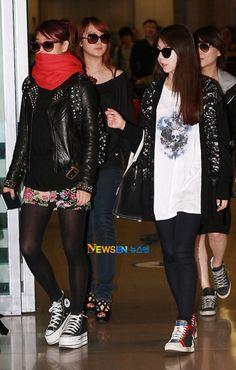Wonder Girls - Yubin, Sohee