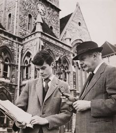 John Betjeman reads William Horton's petition to save Lewisham Town Hall, 1961. by National Media Museum, via Flickr British Poets, English Poets, Victorian Architecture, Local History, Town Hall, Black And White Pictures, Victorian Gothic, Ancestry, Cover Photos