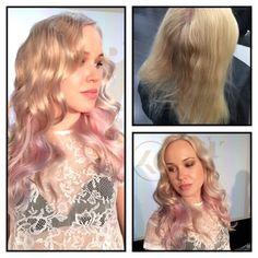 #KCCollection #Optikalist -värjäystä #ColorMaskPaint #pastelhair #KCProfessional #hairfashion #spring2015 #blond #curls
