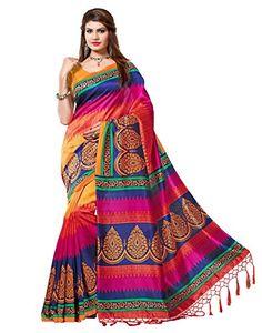 e-VASTRAM Women's Mysore Art Silk Saree with Blouse Piece(NSTASSELMULTI_Multi) - http://www.onlinesaleindia.in/product/e-vastram-womens-mysore-art-silk-saree-with-blouse-piecenstasselmulti_multi/