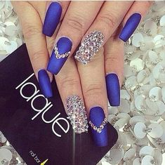 #blue #crystals #diamonds