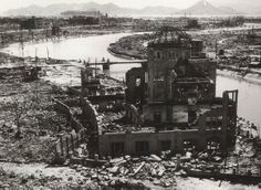 Atomic bomb   Hiroshima   The current Peace Park