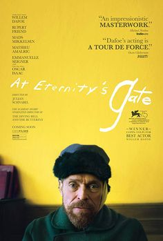 Directed by Julian Schnabel. With Willem Dafoe, Rupert Friend, Oscar Isaac, Mads Mikkelsen. A look at the life of painter Vincent van Gogh during the time he lived in Arles and Auvers-sur-Oise, France. Rupert Friend, 2018 Movies, Top Movies, Great Movies, Movies Online, Movies Box, Movies Free, Mads Mikkelsen, Film Gif