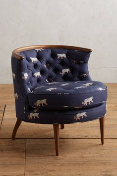 Slide View: 1: Sketched Safari Bixby Chair