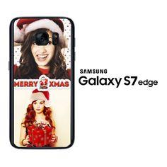demi lovato C0224 Samsung Galaxy S7 Edge Case