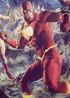 Dc Characters, The Flash, Deadpool, Superhero, Art, Art Background, Kunst, Performing Arts, Art Education Resources
