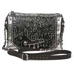 New Rock's newest genuine cow leather handbag: You can purchase this handbag here: http://newrockaustralia.com/index.php?id_product=24980&controller=product #newrock #backpack #backpacks #newrockfashion #gothic