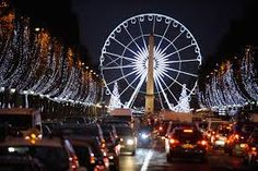 The 'City of Light' proves its name best on Christmas time, when the streets and shops are festooned with colourful decorations and sparkling lights.