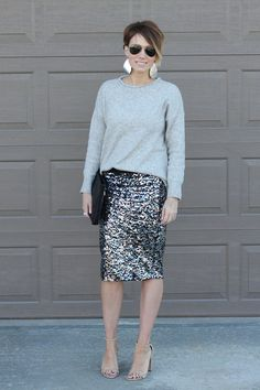 17 Stylish Sequin Skirts You can find Sequin skirt and more on our Stylish Sequin Skirts Bar Outfits, Skirt Outfits, Fashion Outfits, Vegas Outfits, Club Outfits, Woman Outfits, 21st Birthday Outfits, Birthday Outfit For Women, Birthday Dresses