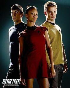 Film Star Trek, Star Trek Ii, New Star Trek, Star Trek Beyond, Star Wars Boba Fett, Star Wars Clone Wars, Zoe Saldana Star Trek, Star Trek Uniforms, Star Trek Generations