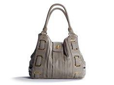 I love a gray handbag