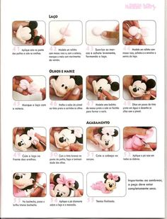 STEP BY STEP MINNIE PART N°4-this tutorial was very easy to follow. I was really pleased with the way my Minnie turned out.