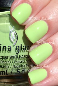 China Glaze Summer 2014 Off Shore Collection Swatches Be more Pacific