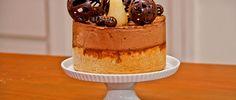 Pastel de chocolate con pera al caramelo - Chf. Paulina Abascal -  http://elgourmet.com/receta/pastel-de-chocolate-con-pera-al-caramelo