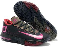 wholesale dealer 3bfc1 2b93a For Wholesale Nike KD VI Meteorology Black Atomic Red-Medium Olive-Fire Red  599424. MeteorologyFireKevin Durant ...