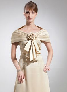 Wraps - $29.99 - Charmeuse Special Occasion Wrap (013012294) http://jjshouse.com/Charmeuse-Special-Occasion-Wrap-013012294-g12294