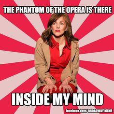 Next to Normal meets Phantom of the Opera.Via Broadway Meme    http://www.facebook.com/broadwaymeme?fref=ts