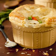 Plant-Based Chick'n Pot Pies  vegan, plantbased, earth balance, made just right
