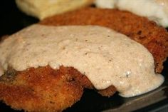 A while ago someone asked what to do with pork cutlets she got on sale - this is a wonderful dish using pork cutlets that we enjoy served with egg noodles. Pork Cutlet Recipes, Cutlets Recipes, Pork Chop Recipes, Meat Recipes, Side Recipes, Yummy Recipes, Pork Cutlets, Pork Chops, Pork Sirloin Cutlets Recipe