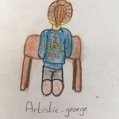 Drawn by my little sister artistic_george x