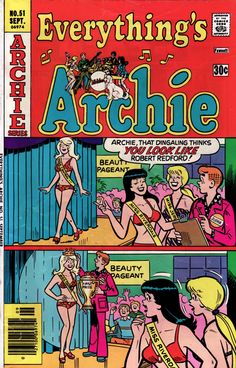 Wish I had. An Archie comic always puts me in a good mood.