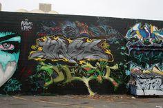 Vægmaleri i San Francisco USA
