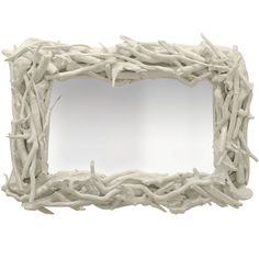 custom driftwood mirror white gloss used in the master bedroom...