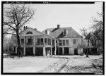 2.  Historic American Buildings Survey Lester Jones, Photographer February 28, 1940 REAR ELEVATION (NORTH) - Melrose Plantation, State Highway 119, Melrose, Natchitoches Parish, LA
