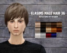 I retextured a couple Elasims hair conversions using Pooklet's project mayhem textures and actions. Hair 36 is available for children to elders. Hair 24 is only available for teens to elders. Each...